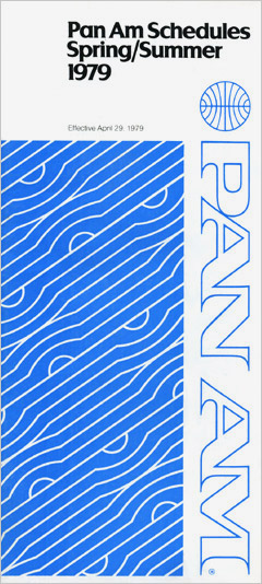 Pan Am Timetable Apr 29, 1979